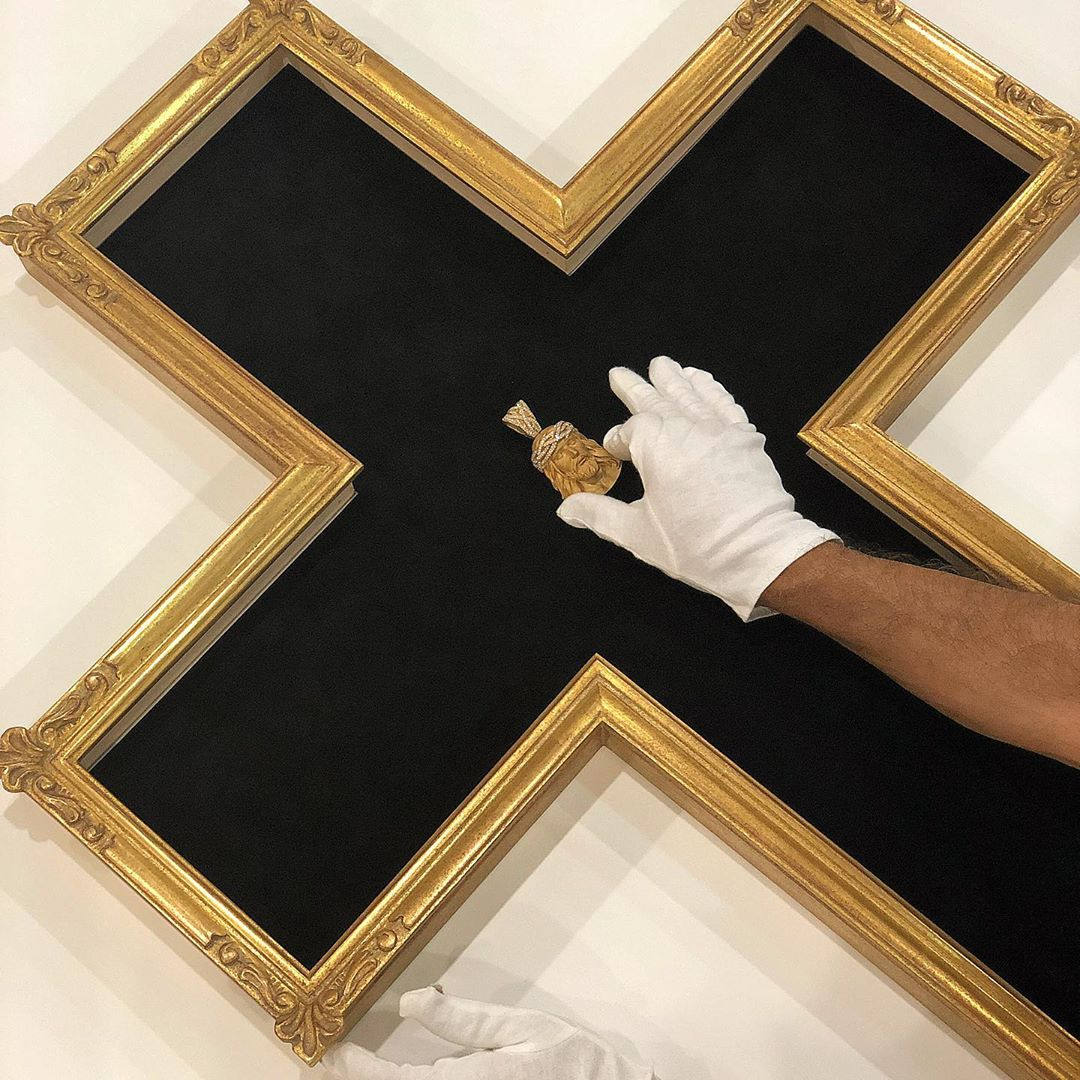 Custom Framing - Cross Shaped Frame - New Yorker Picture Frames